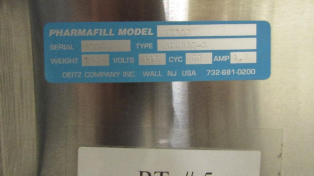 Lot 18 - Pharmafill Turn Table