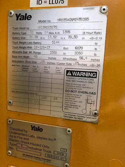Lot 354 - Yale Standing Lift