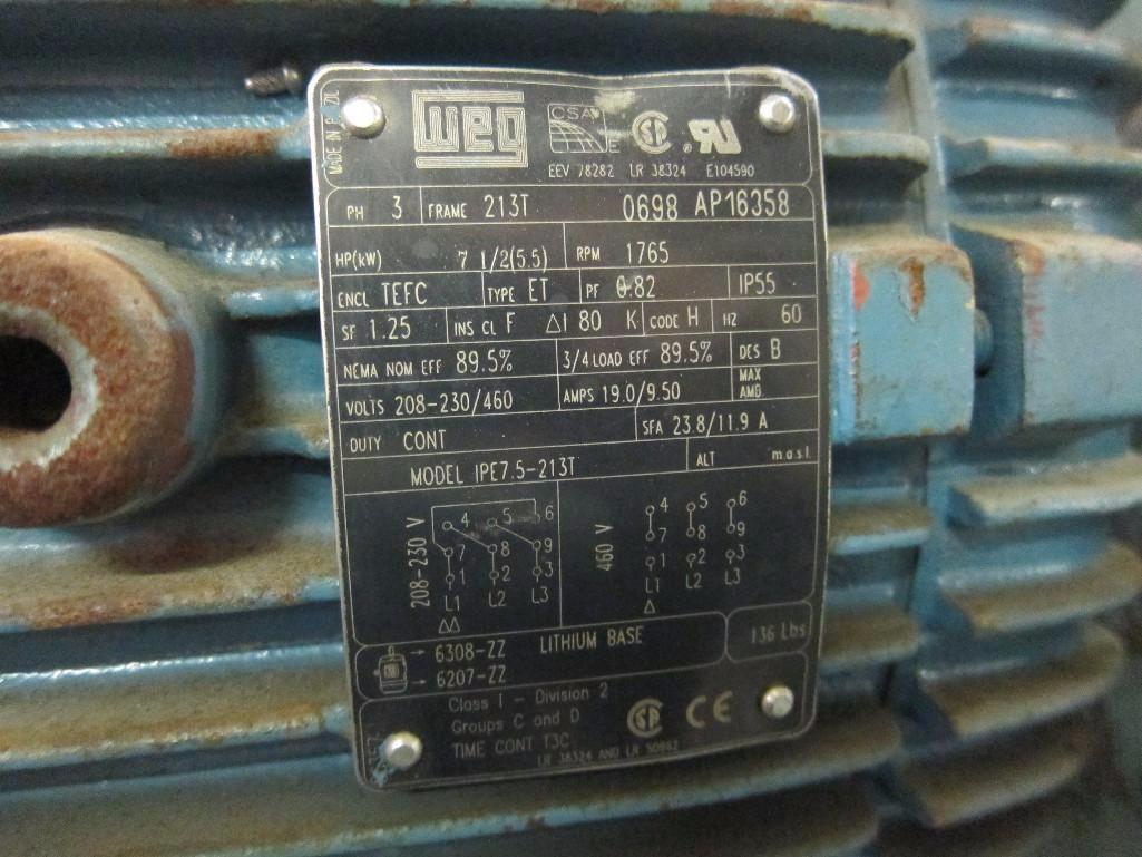 Lot 99 - Littleford Day 130 Liter Stainless Steel High Intensity Mixer