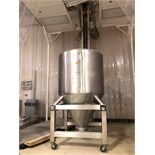 MetoLift CBS-1600 900 KG Bin Blender with Two 1600 Liter Bins
