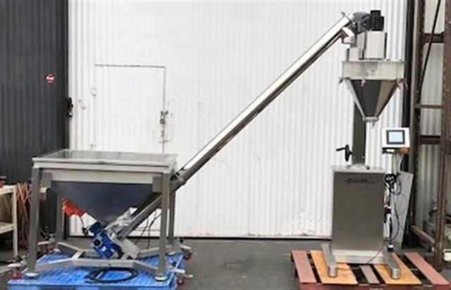 Lot 123 - Accutek Powder Filler and Auger Feeder