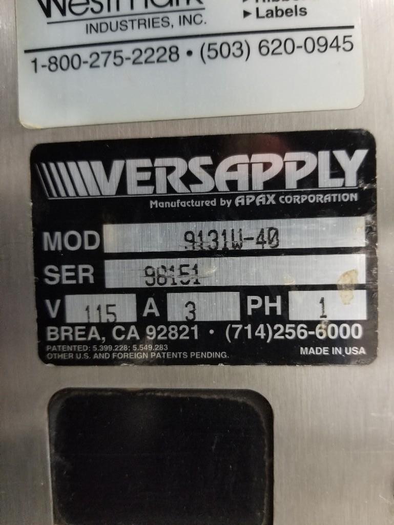 Lot 325 - Versapply Labeler