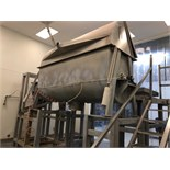 110 Cubic Foot double Strong Scott Ribbon Blender.