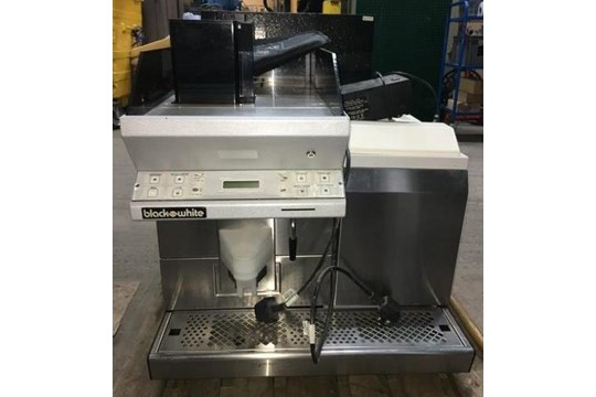 Lot 11 - Black & White Coffee Machine - Spares & Repairs