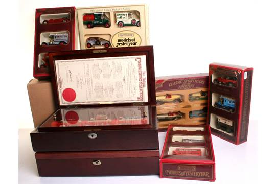 Eight Matchbox Models of Yesteryear Gift Sets including: 3 x