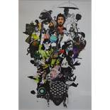 David Foldvari (Contemporary Hungarian), Untitled, limited edition print, signed and numbered 1/300,