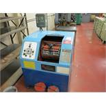 RICHWOOD INDUSTRIES CONTROLLED VELOCITY FINISHING MACHINE, MEDIA TUMBLER, MODEL CV-600, S/N 9201051