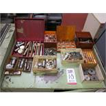 LOT - CONTENTS ONLY ON TOP AND INSIDE 2-DOOR WORKTOP CABINET, CABINET NOT INCLUDED