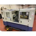 "2005 HWACHEON HI TECH 200AI CNC TURNING CENTER, FANUC O1-TB CNC CONTROL, 8"" KITAGAWA 3-JAW CHUCK,"