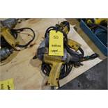 LOT: (2) DEWALT 1/2 IN. DRIVE ELECTRIC IMPACT WRENCHES (BUILDING #1)