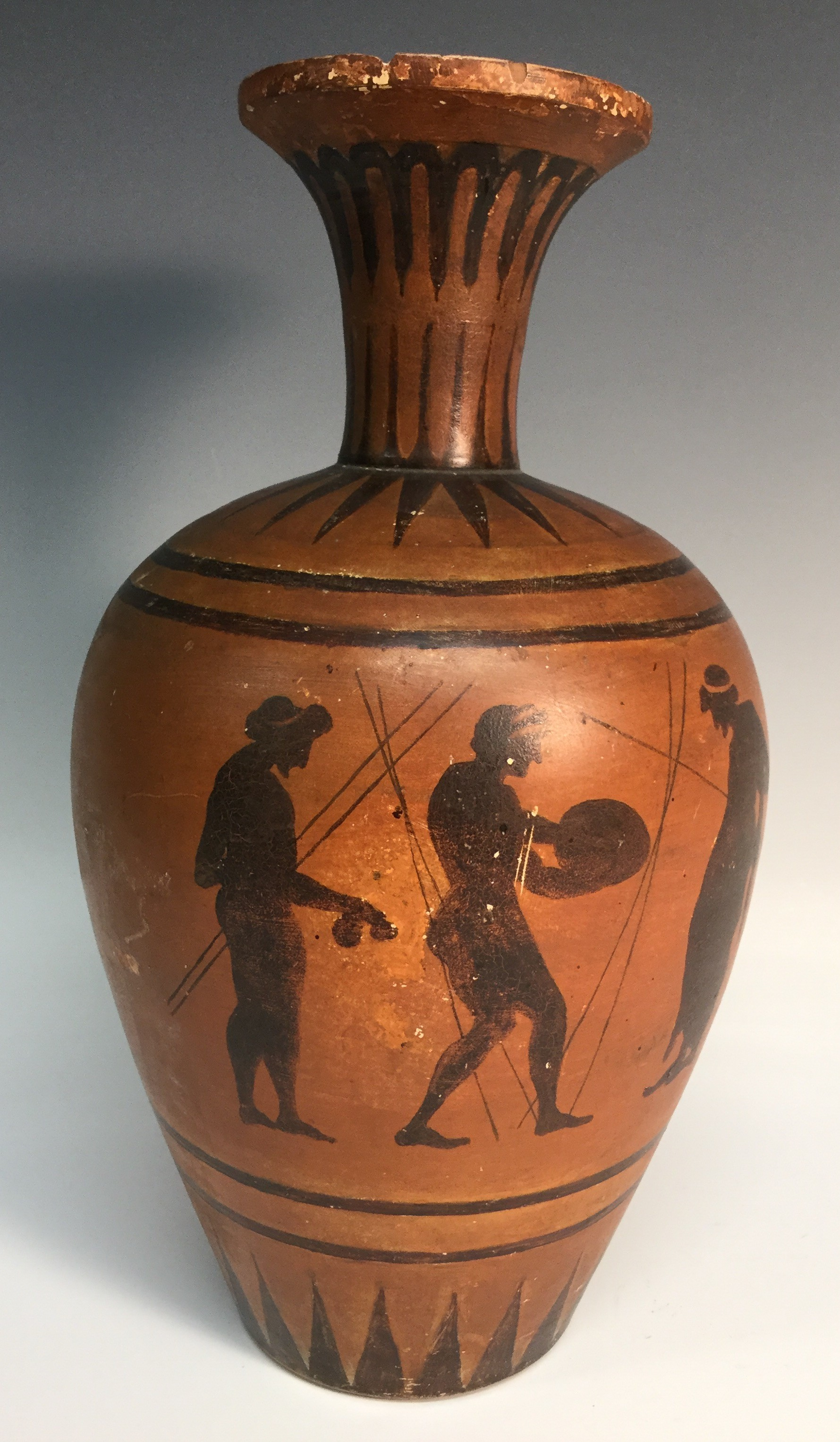 an evaluation of the vase painting three revelers by euthymides Themes of vase paintings include mythological and sporting events two main styles in vase painting euthymides the three revelers.