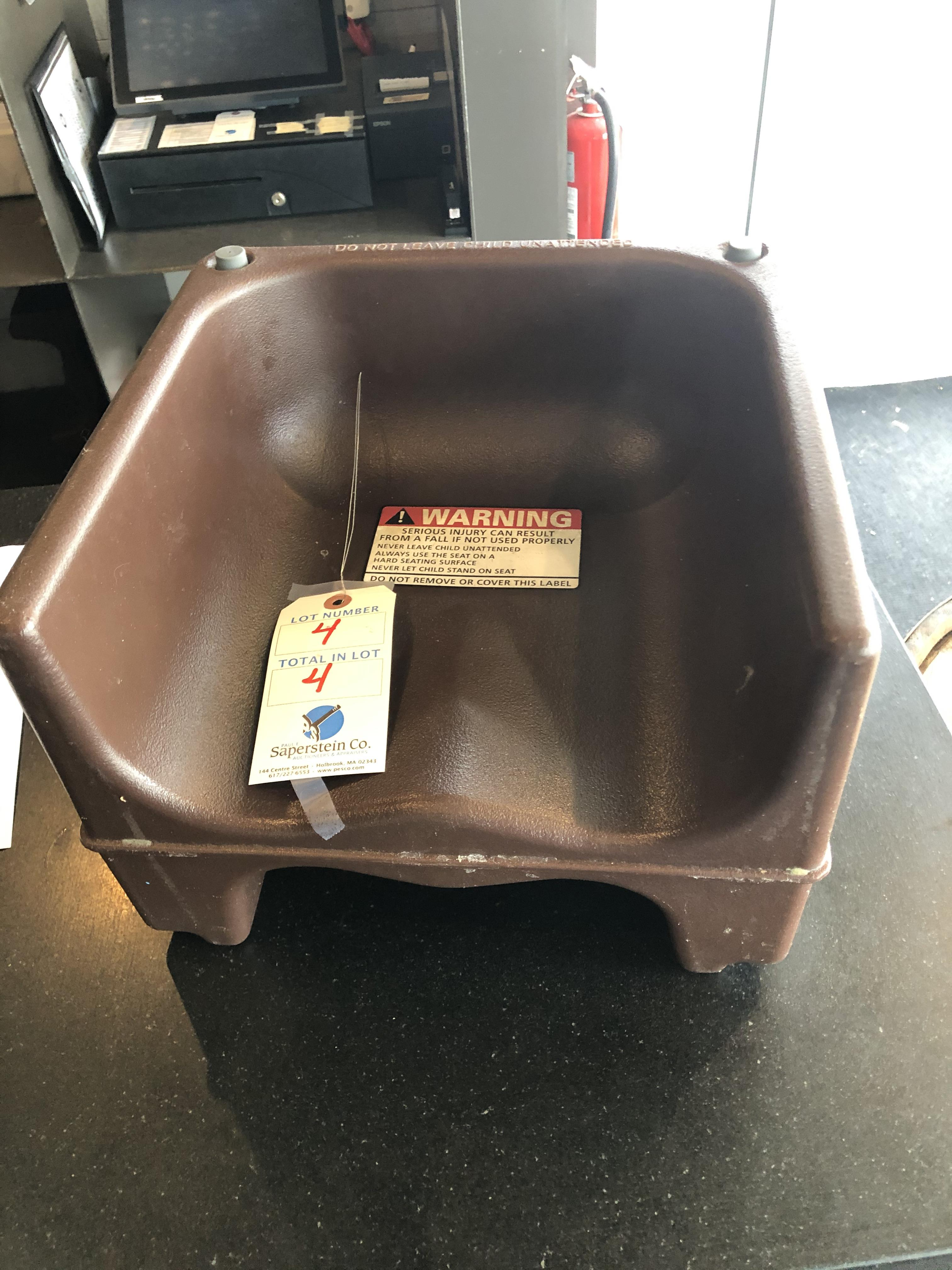 (4) Booster Seats