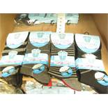 12 X Pairs of Mens Fresh Feel Non Elastic Diabetic Friendly Cotton Lycra Socks size 6-11 new in