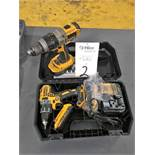 "DeWalt Model DCD791 20 Volt, Cordless 1/2"" Drill"