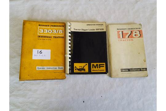 massey ferguson operators manual for mf 50b and 3303 05 tractors t w rh i bidder com Standard Operating Manual User Manual Guide