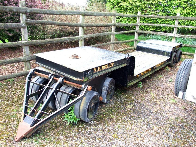Lot 461 - 6' Scale John Fowler and Co 16 Wheel Heavy Duty Low Loader ...