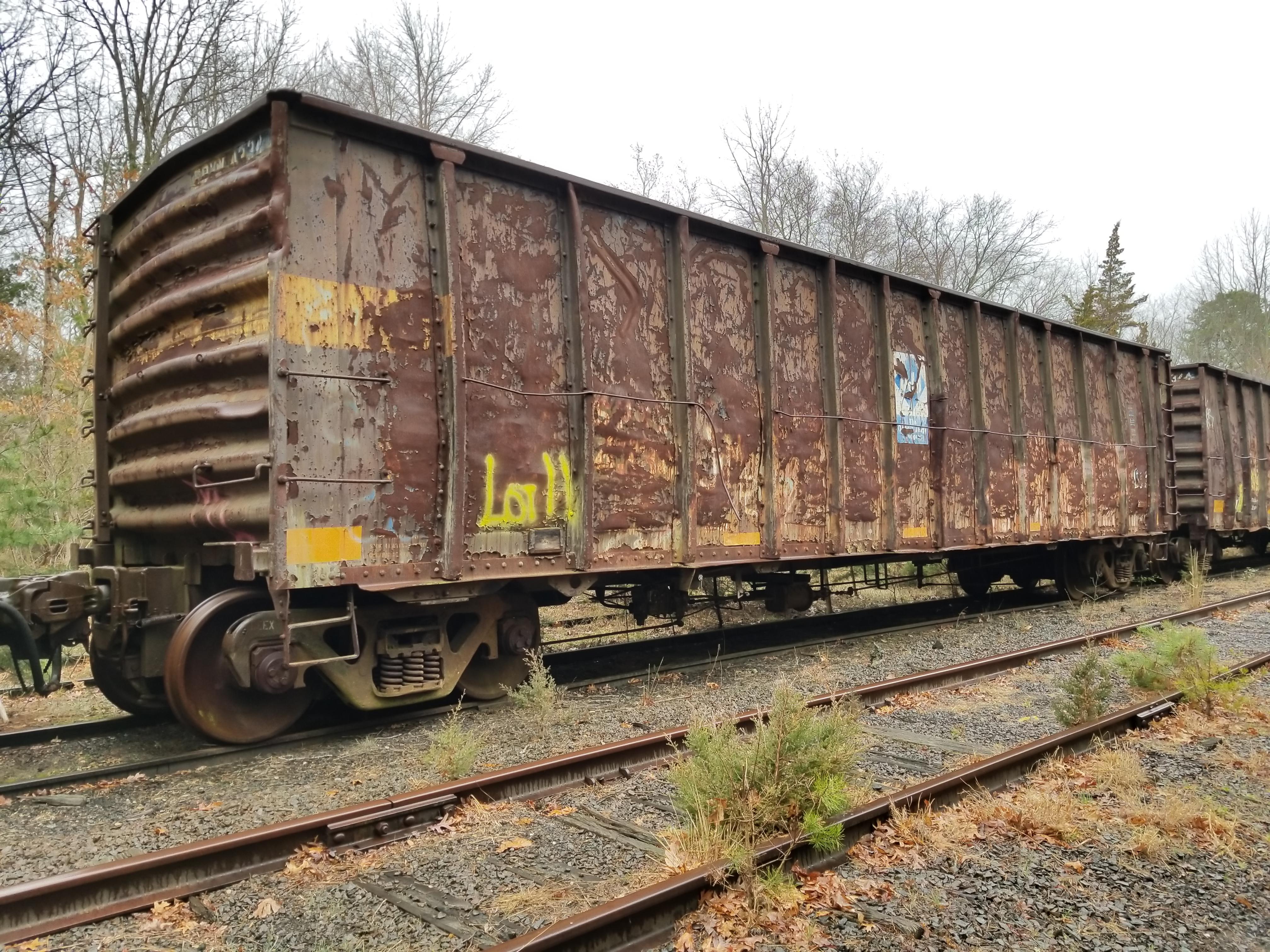 Lot 11 - LOT 11 - (X 6) HIGH-SIDED GONDOLA RAIL CARS (DENNISVILLE, NJ) (11-1) 1984 SRXX 4130 HIGH-SIDED