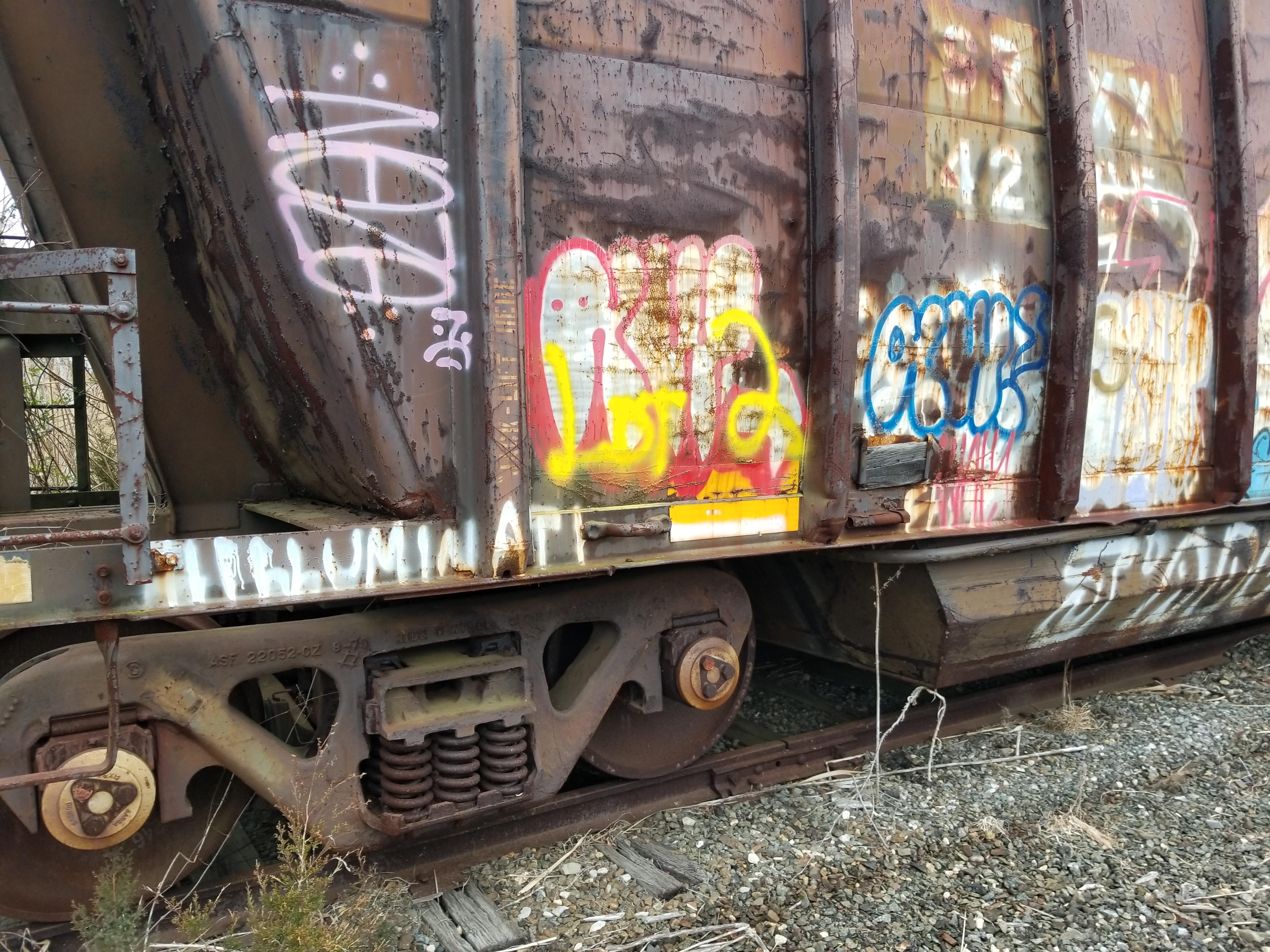 Lot 2 - LOT 2 - (X 6) BATH TUB BELLY GONDOLA RAIL CARS (CAPE MAY, NJ) (2-1) SRXX 4207 BATH TUB BELLY GONDOLA
