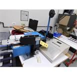 AMP Bench Top Electric Terminal Press Model EFCTM, S/N 702600