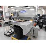 Contech Programmable Hydraulic Die Cutter Model UP-2028, S/N UP506280400, 22 in. x 29 in. Bed, with