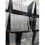 LOT: (80) 45 in. x 34 in. Aluminum Silk Screen Frames, with Metro Rack