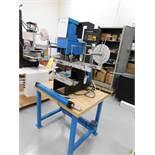 Cassco Pneumatic Hot Stamper Model HPS-1500, S/N 1475, 6 in. x 6 in. Head Size