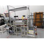 Custom Roll-to-Roll Light Table Inspection Station, Variable Speed Control
