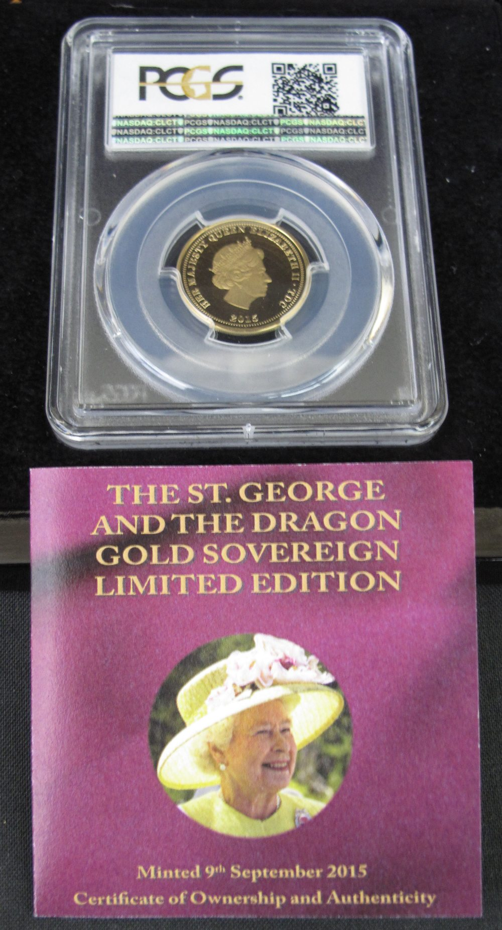 Lot 387 - ELIZABETH II ST. GEORGE AND THE DRAGON G