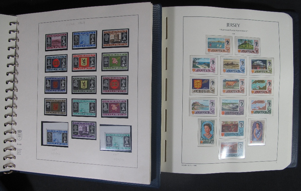 Lot 417 - GUERNSEY U/M MINT STAMP COLLECTION 1969