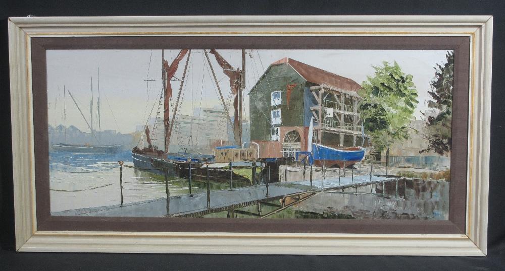 Lot 203 - HARLEY CROSSLEY (BRITISH 1936-2013), Lon