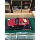 A Hotwheels 1:18 scale Ferrari 550 Maranello - no box Further Information Appears