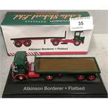 1/76 scale die cast metal model Atkinson Borderer flatbed (boxed)