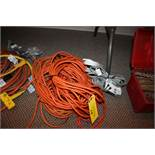 ASSORTED ELECTRICAL EXTENSION CORDS