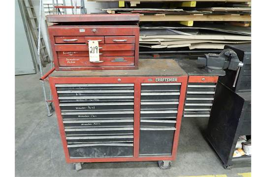 Craftsman Roll Around Tool Chest And Vise