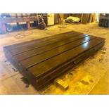 120 in L x 60 in W x 12 in T-Slotted Floor Plate