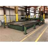 Praxair ProStar 10' x 20' CNC Plasma Cutting Table, Dual Side Drive Gantry (30' Pedestal-Mounted