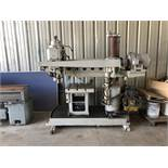 "Morris ""Mor-Speed"" Radial Arm Drill, 4' Arm, 10"" Column, 100-1600 RPM, Enerpac 1.5 HP Pump (Model"