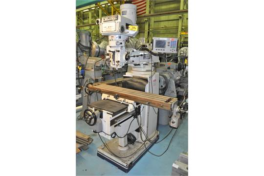 vectrax mdl gs20v vertical milling machine with 70 3600 rpm rh bidspotter com Vectrax Lathe 15X50 Vectrax Parts