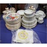 """A Noritake """"Sarah"""" pattern part combination service, a quantity of The Royal Horticultural Society"""