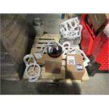 Quantity of Halogen Oven Lids and Bases and Various Other Components to 2 Pallets and Stillage (