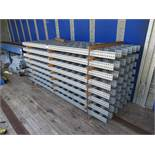 Various Roller Track Components comprising 40 Lengths of Roller Track approx.. 2500mm x 160mm and