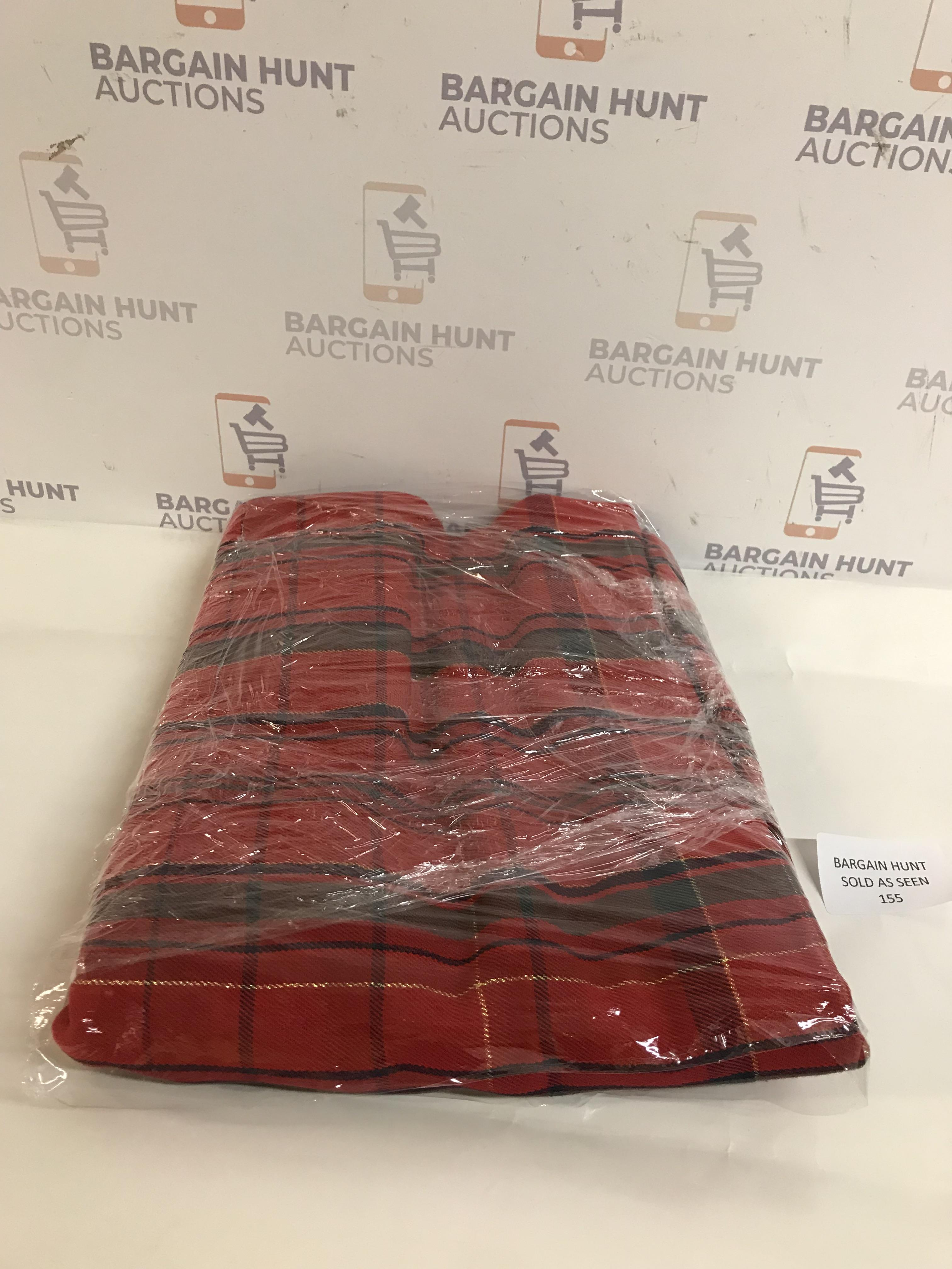 Lot 155 - Checked Tablecloth