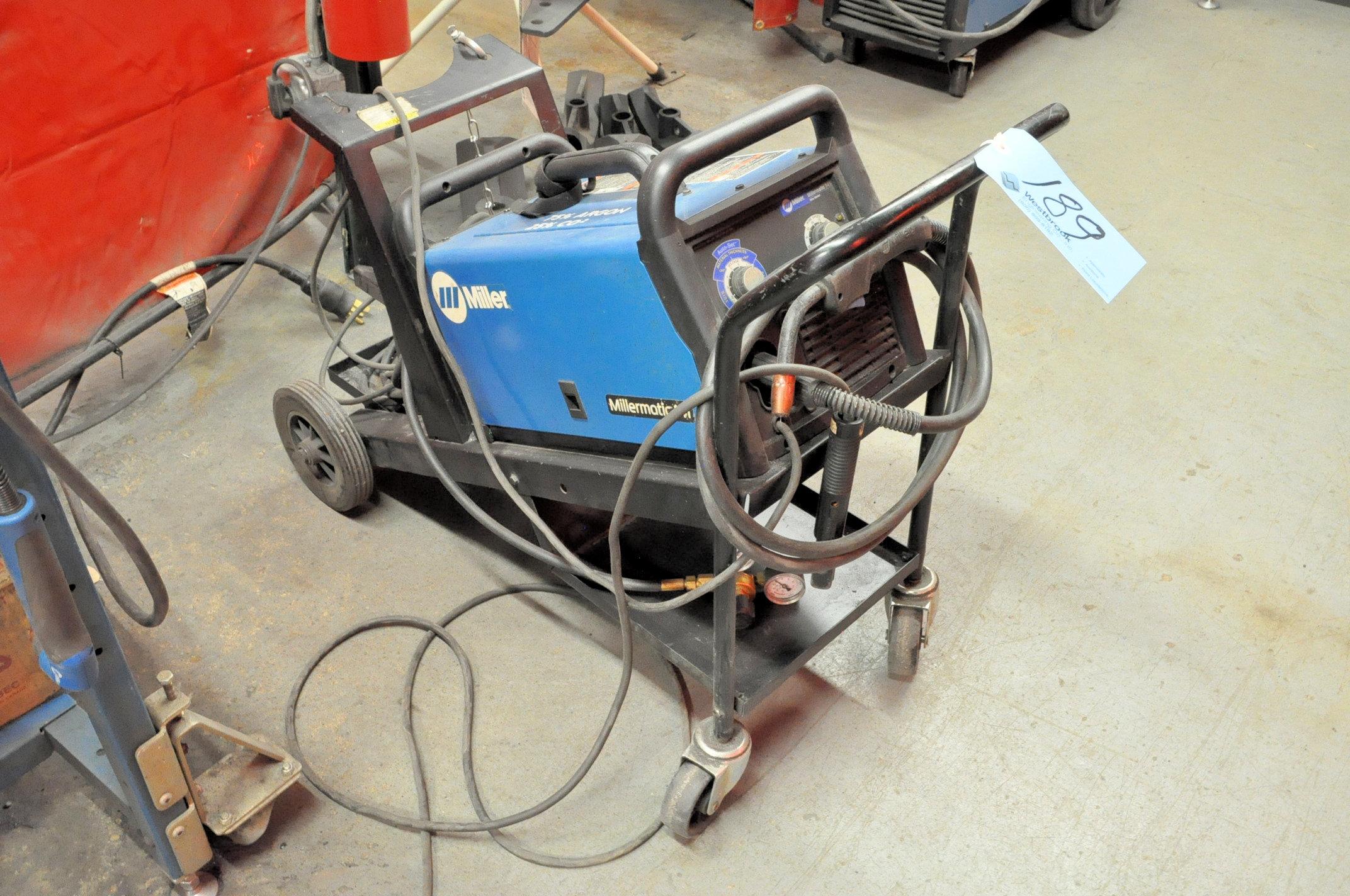 Miller Millermatic 141, 90-Amp Capacity Wire Feed Mig Welder, - Image 2 of 2