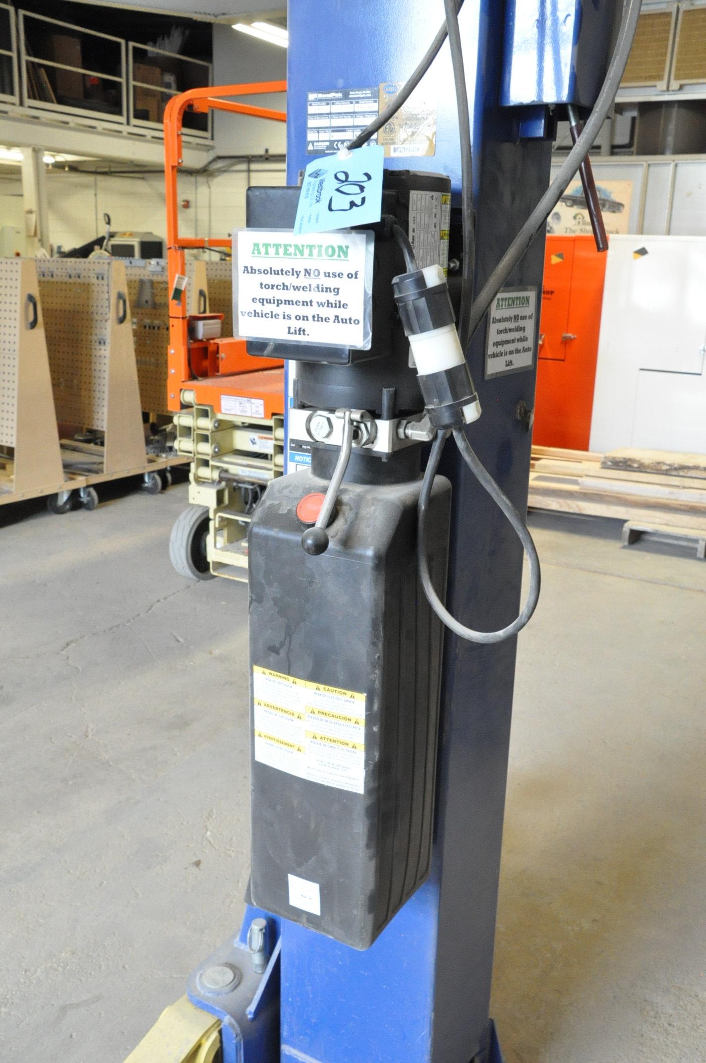 Bendpak Model XPR-10, 10,000-Lbs. Capacity 2-Post Hydraulic Car Lift, 2-HP, 1-PH - Image 2 of 3