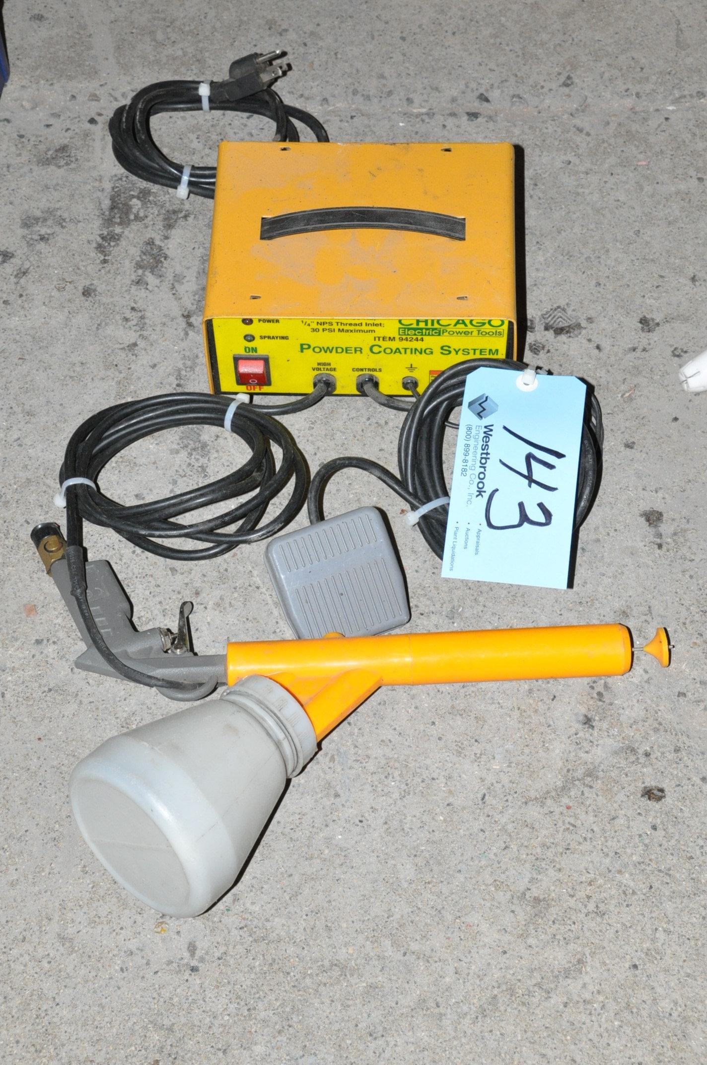 Chicago 94244, Electric Powder Coating Spray Gun System