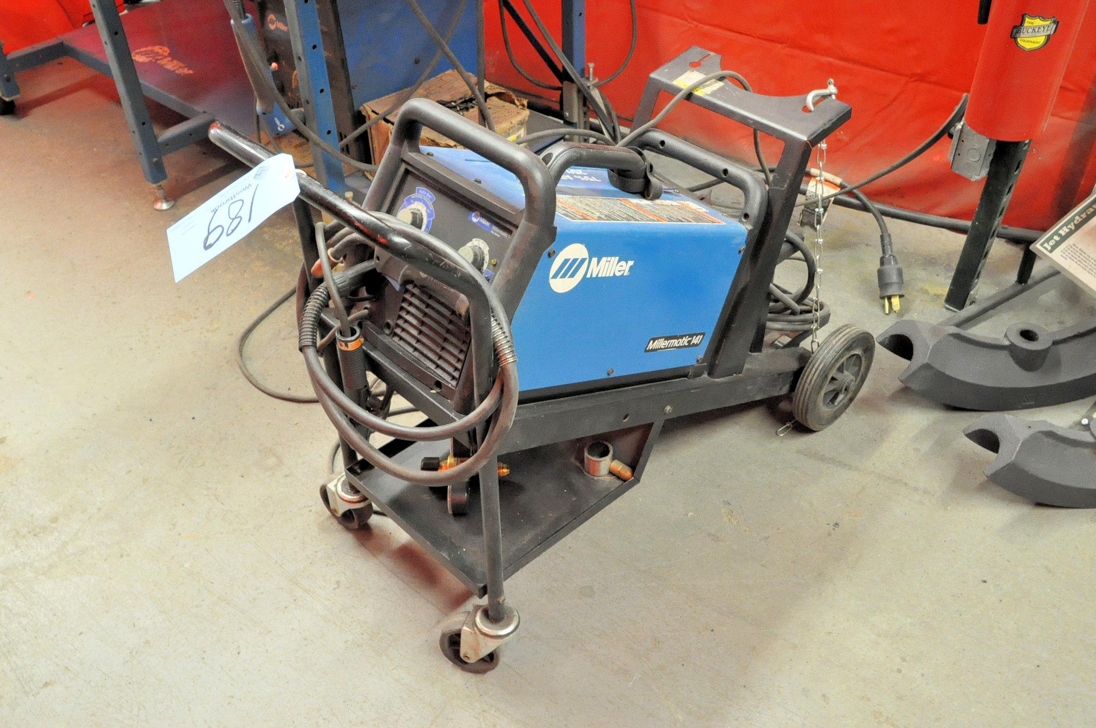 Miller Millermatic 141, 90-Amp Capacity Wire Feed Mig Welder,