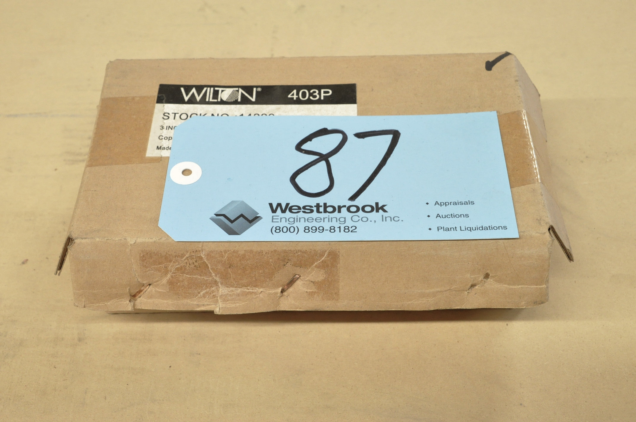 """Lot-(2) Wilton No. 403-P, 3"""" C-Clamps, (Packaged)"""