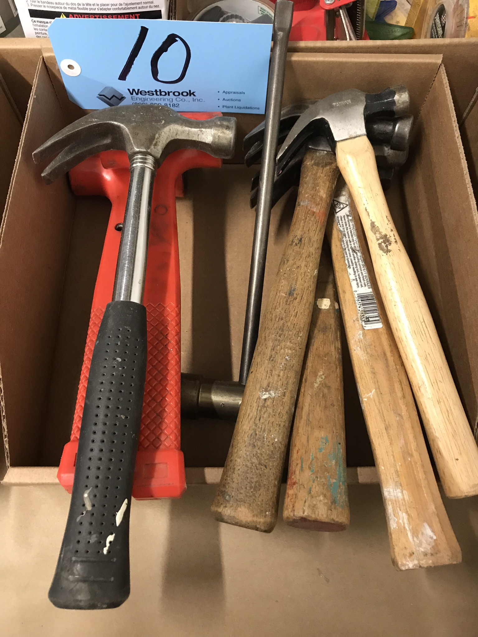 Lot-Claw and Dead Blow Hammers in (1) Box
