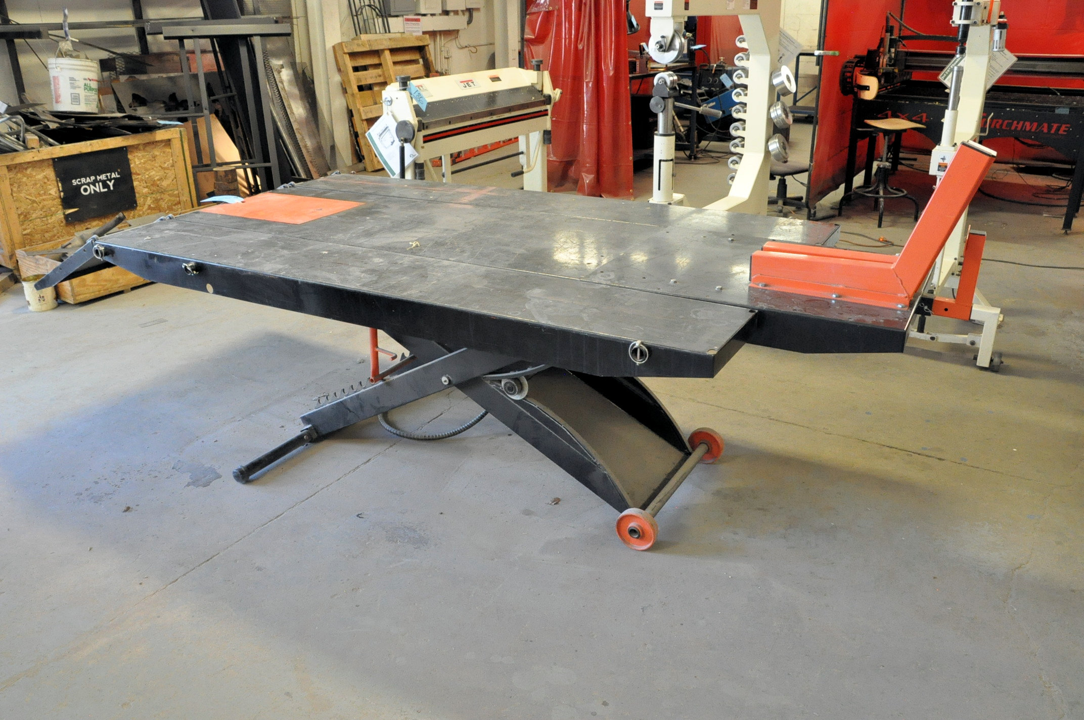 """No Name Model JMML-1000, Motorcycle Lift Table, S/n N/a, Table Size: 48"""" x 96"""", 1,500 LB Capacity - Image 2 of 2"""