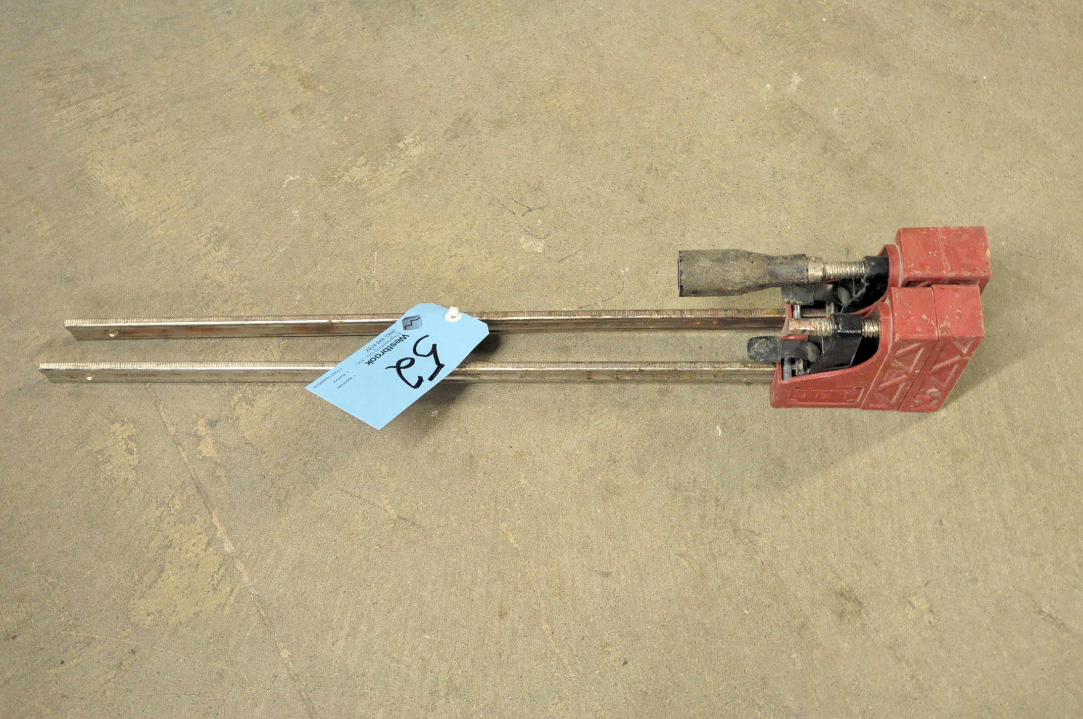 """Lot-(2) Jet No. 70424, 24"""" Parallel Clamps Under (1) Table"""
